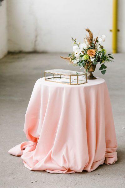 envelopbox huren bruiloft slot glas goud spiegel kaartenbox enveloppendoos enveloppenkist