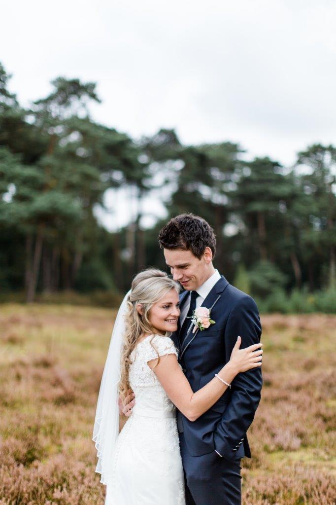 Bruidspaar Liesbeth en Jacco