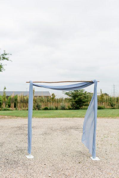 huren backdrop stof doeken voor decoratie bruiloft lavendel blauw