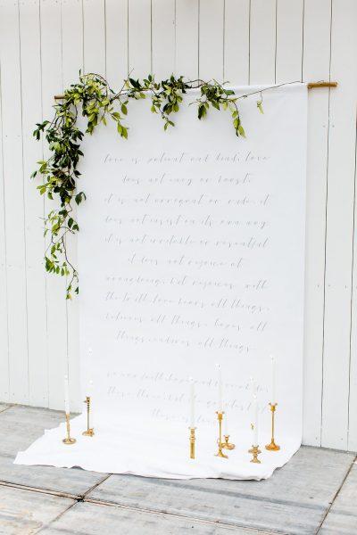 backdrop huren canvas tekst fotoachtergrond doek bruiloft