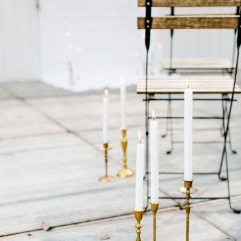 huren kandelaren vintage goud bruiloft