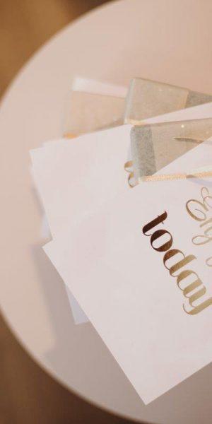 Confetti goud bruiloft
