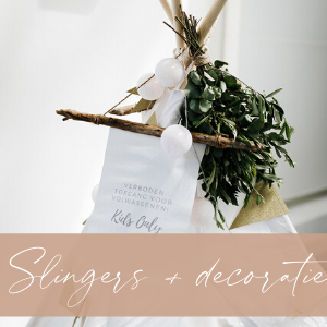 Slingers en decoratie